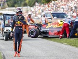 Verstappen: Hungarian GP radio outburst after engine failure was wrong