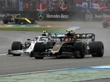 Double points for Haas, but drivers clash again