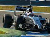 Magnussen not reading too much into fastest time