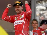 Sebastian Vettel: Ferrari are just enjoying the moment