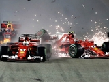 Title 'more difficult' after Vettel's DNF