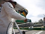 Hamilton gifted Senna's race helmet after equalling idol on poles