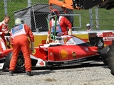 Vettel: Brake issue caused late spin