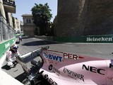 Baku Turn 8 kerb changed after crashes in Formula 1 practice
