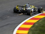 Ricciardo's car undamaged after hydraulic issue in F1 Belgian GP practice