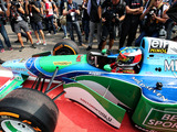 Mick Schumacher completes Spa demo run in father's title-winning Benetton
