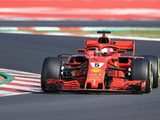 Vettel Leads the Way for Ferrari on Opening Day of Final Test