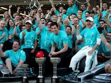 Mercedes win record sixth Constructors' title