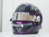 Hamilton continues support for equality with new helmet design