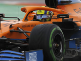 """Norris took risks in """"manic"""" Russian GP qualifying to claim pole"""