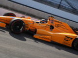 Alonso fourth at windy Indy