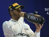 Champagne on ice for Hamilton's fourth