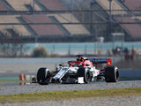 Antonio Giovinazzi satisfied with first pre-season test
