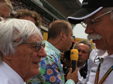Bernie Ecclestone should't voice F1 criticism publicly - Dieter Zetsche
