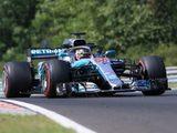 Russell ends Hungary in-season test fastest for Mercedes
