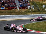 Routine race rewards Force India with double top five