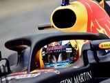 F1 testing: Daniel Ricciardo tested start visibility with halo