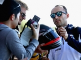 Kubica returns to action for Williams