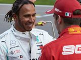 Hamilton plots route to beat Ferrari