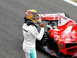 Hamilton retains pole, cleared over block