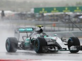 Rosberg takes third straight pole in truncated session