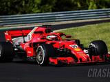 Giovinazzi leads first morning of Hungary F1 test for Ferrari