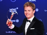 Rosberg wins 'Breakthrough of the Year' Laureus award