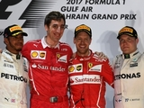 Halfway: The podiums of F1 2017 so far