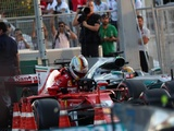 Vettel says Hamilton also deserved penalty, plays down driving into rival