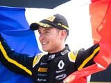 Renault pay tribute to 'brightest talent' Anthoine Hubert