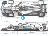 Mercedes reveal secrets behind building 2019 F1 car