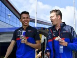 "Kvyat ""wasn't happy"" learning of Albon's Red Bull promotion"