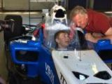 Sky F1 special: Billy Whizz in an F1 car!