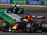 Verstappen surprises Mercedes to win 70th anniversary GP
