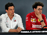 Binotto has 'nothing' to say to Wolff