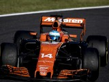 McLaren's Fernando Alonso reprimanded for holding Hamilton up