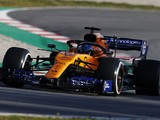 McLaren 'has to be happy' with start to F1 testing - Sainz