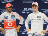 Hamilton had more talent than Schumacher - Rosberg