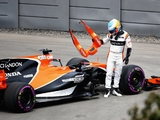 30-place grid penalty for Alonso