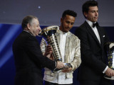 Hamilton and Mercedes star at FIA Awards