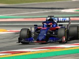 Kvyat and Albon both Positive Toro Rosso Has Strong Barcelona Pace