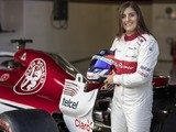 Tatiana Calderon found Sauber F1 car physically easier than GP3