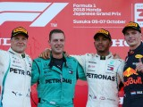 Lewis Hamilton dominates Japanese GP for fourth F1 win in a row
