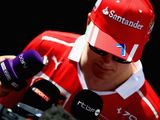 Kimi Raikkonen not happy with recent form