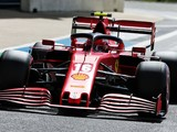Leclerc 'shocked' by second-row Silverstone spot