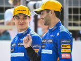 """""""It's good to get an understanding of both types of running to assess areas we need to work on ahead of race weekends"""" – Lando Norris"""