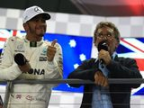 """Lewis Hamilton on Shock Singapore Victory: """"I can't believe it, I'm so happy!"""""""
