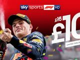 Limited time offer: Sky F1 for £10!
