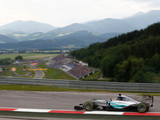 Austrian GP weekend likely to see thunderstorms