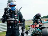 Bottas snatches pole from Hamilton, Hulk third